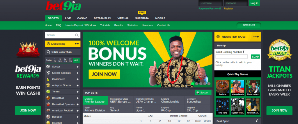 Bet9ja Mobile Review - How to Play and Win a Bonus of N100,000