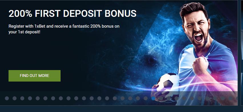 1xbet deposit bonus