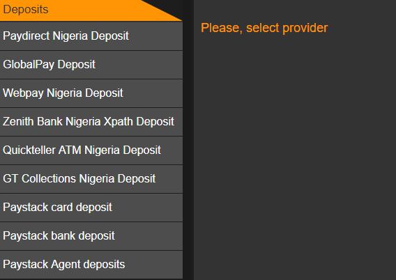 Merrybet deposit options