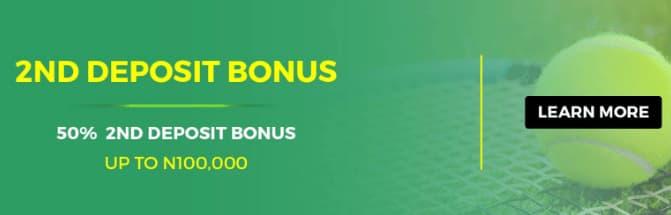 Lionsbet Second Deposit Bonus