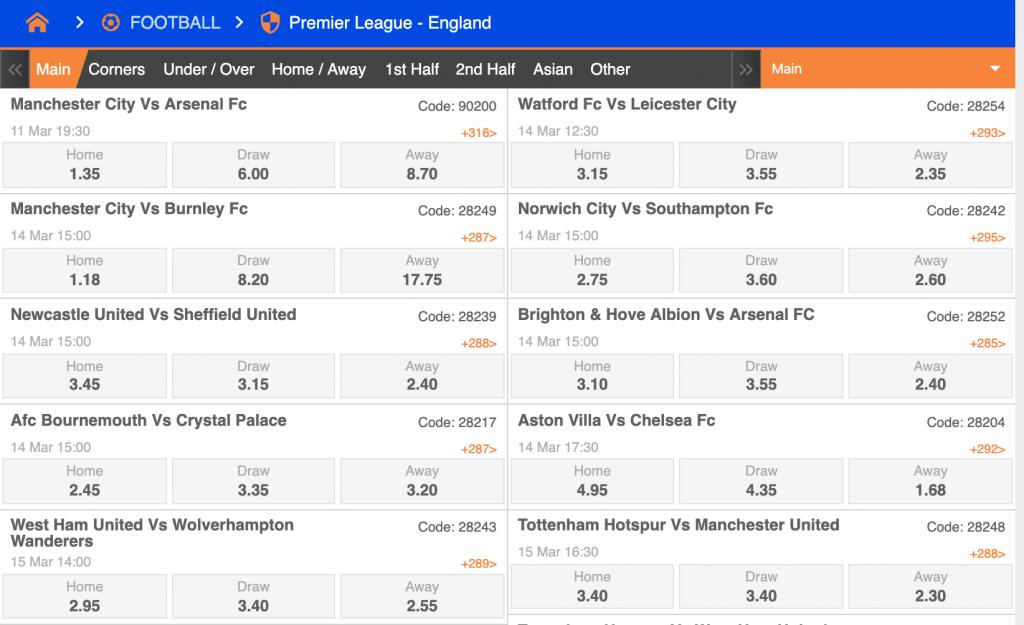 premier league nairabet